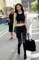 SUI HE at 2017 Victoria's Secret Fashion Show Casting in New York 08/25/2017