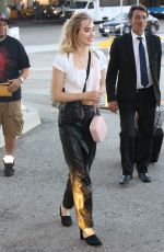 SUKI WATERHOUSE at LAX Airport in Los Angeles 08/08/2017