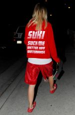 SUKI WATERHOUSE Out and About in Santa Monica 08/16/2017