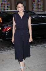 SUTTON FOSTER Arrives at Crosby Street Hotel in New York 07/31/2017