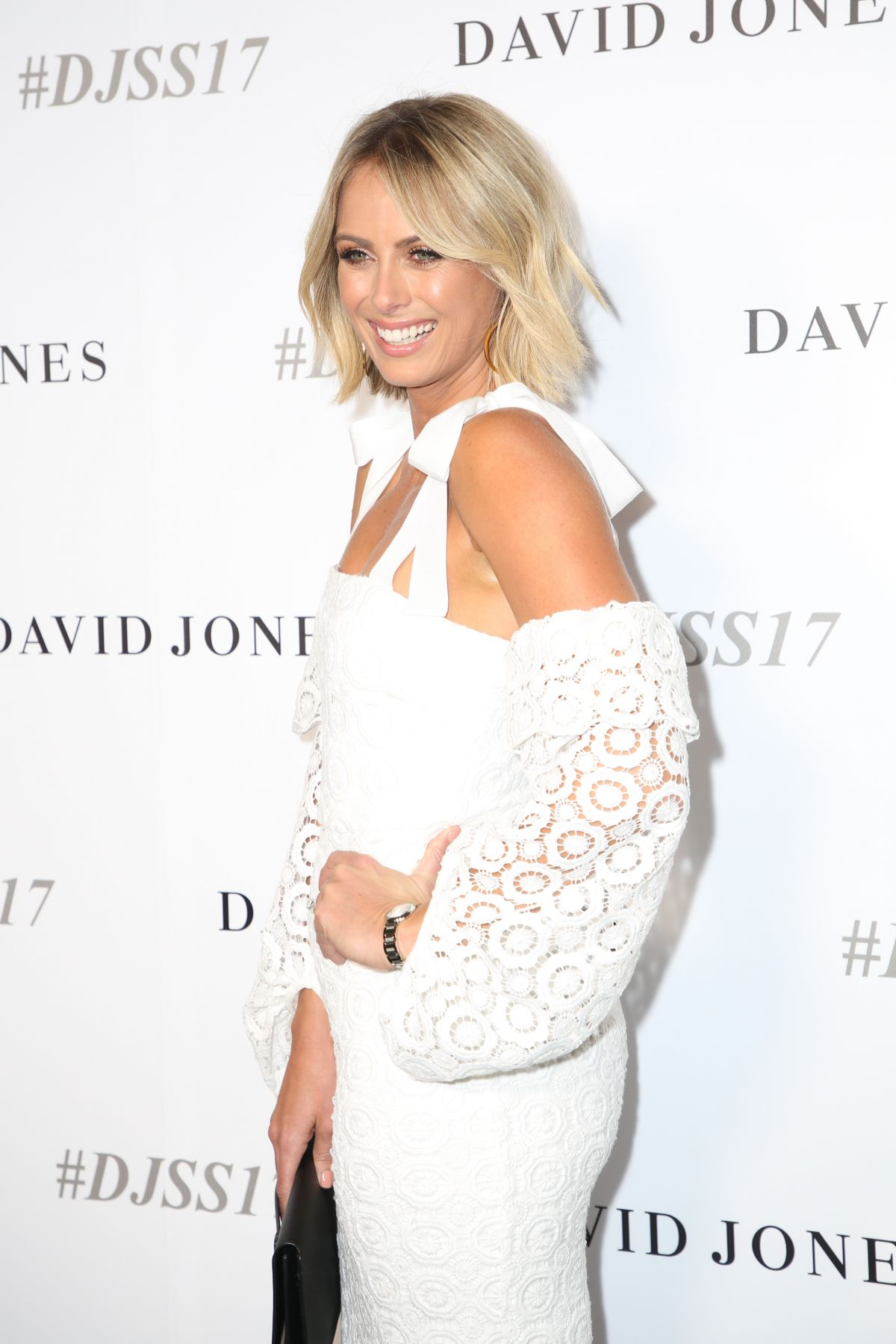 SYLVIA JEFFREYS at David Jones S/S 2017 Collections Launch in Sydney 08/09/2017