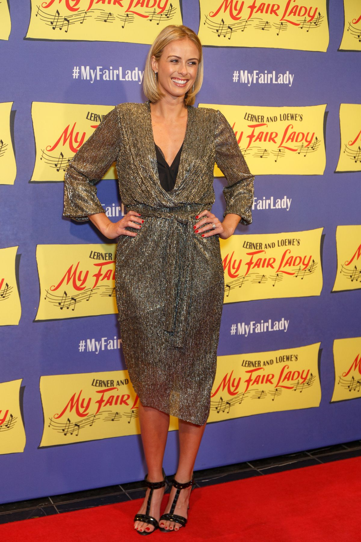 SYLVIA JEFFREYS at My Fair Lady Opening Night in Sydney 08/27/2017