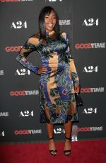 TALIAH WEBSTER at Good Time Premiere in New York 08/08/2017