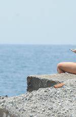 TALLIA STORM in Bikini on the Beach in Marbella 08/18/2017