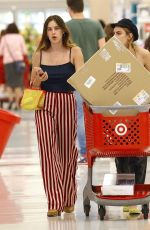 TALLULAH and SCOUT WILLIS Shopping at Target in West Hollywood 08/23/2017