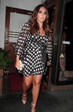 TAMARA ECCLESTONE at Madeo Restaurant in West Hollywood 08/21/2017