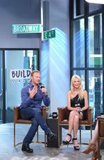 TARA REID Promotes Sharknado 5: Global Swarming at AOL Build in New York 08/03/2017