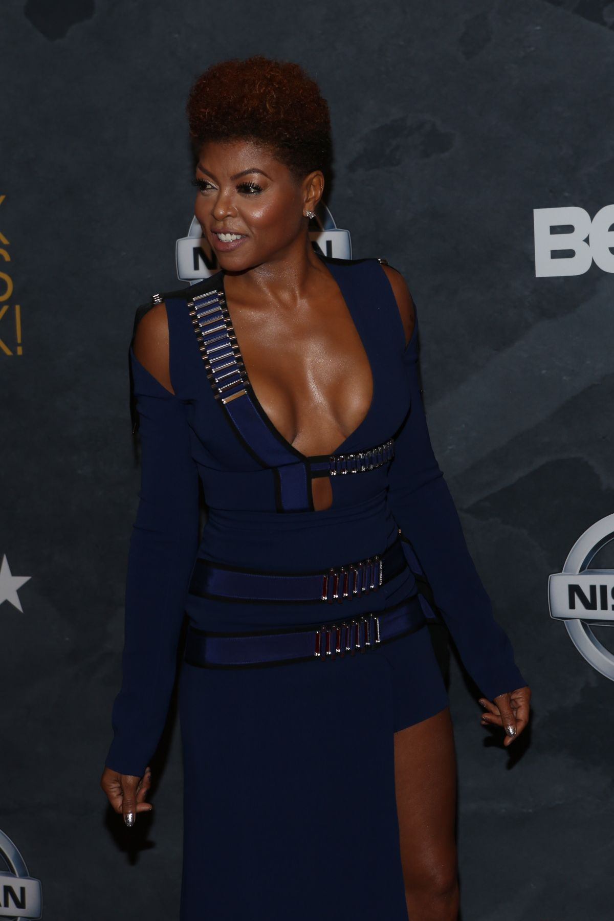 2017 05 fashion jersey dress - Taraji P Henson At 2017 Black Girls Rock At New Jersey Performing Arts Center