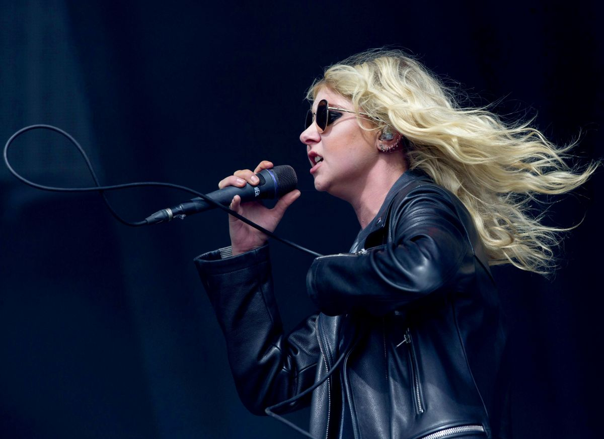 TAYLOR MOMSEN Performs at Leeds Festival at Bramham Park 08/27/2017