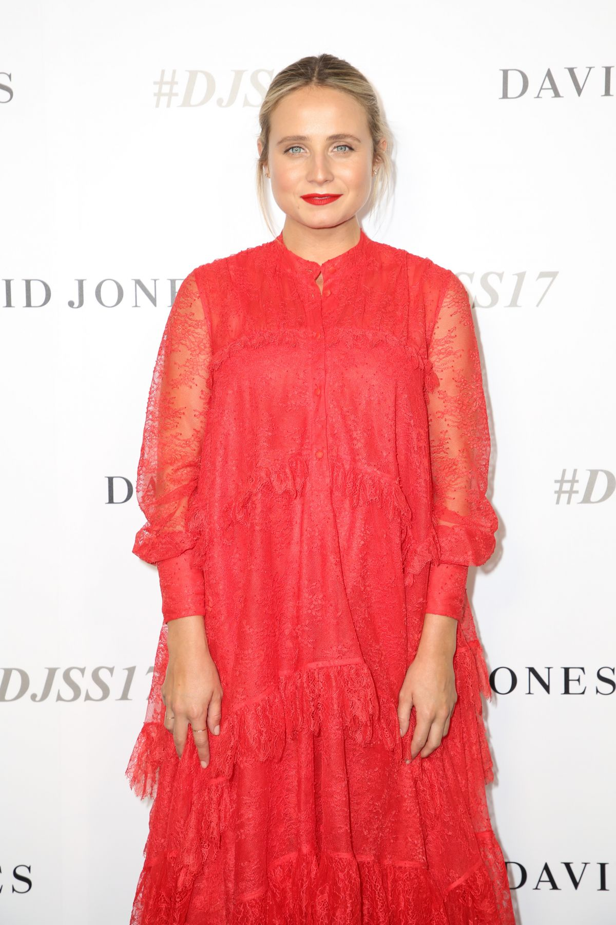 TESSA JAMES at David Jones S/S 2017 Collections Launch in Sydney 08/09/2017