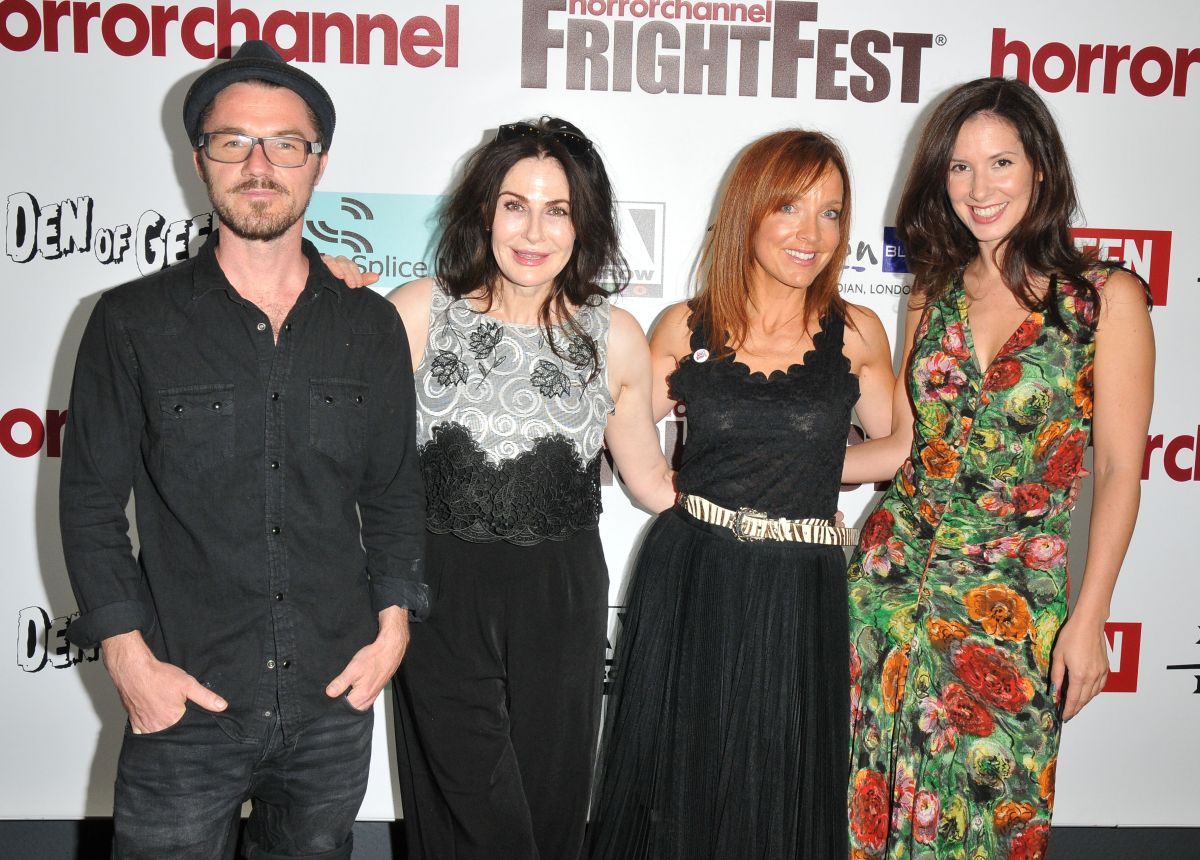 THAILA ZUCCHI and JOANNE MITCHELL at Attack of the Adult Babies Premiere at  Horror Channel Frightfest