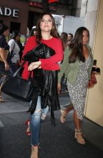 TIFFANI THIESSEN Arrives at Today Show in New York 08/28/2017