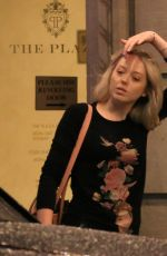TIFFANY TRUMP and MARLA MAPLES at Plaza Hotel in New York 08/18/2017