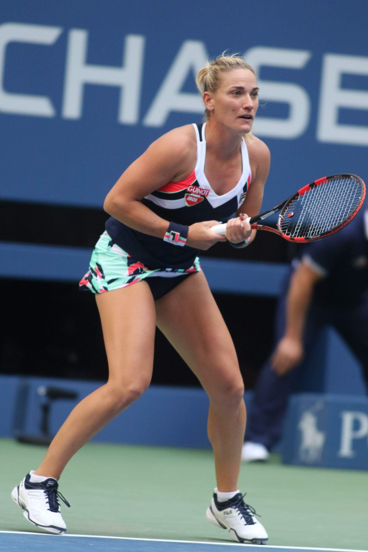 TIMEA BABOS at 2017 US Open Tennis Championships 08/30/2017