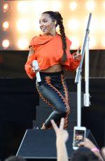 TINASHE at Billboard Hot 100 Festival in Wantagh 08/19/2017