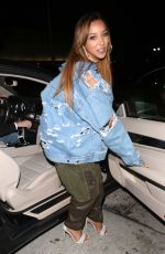 TINASHE Leaves Catch LA in West Hollywood 08/30/2017