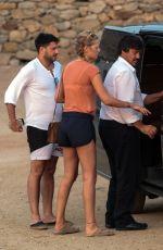 TONI GARRN on Vacation in Mykonos 08/10/2017