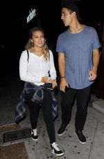 TORI KELLY Leaves Peppermint Club in West Hollywood 08/06/2017
