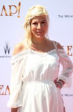 TORI SPELLING at Leap! Premiere in Los Angeles 08/19/2017