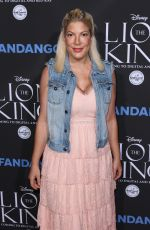TORI SPELLING at The Lion King Sing-along in Los Angeles 08/05/2017