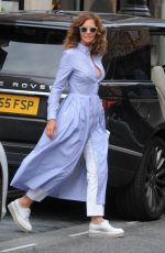 TRINNY WOODALL Out in Mayfair 08/12/2017