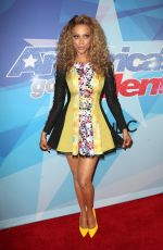 TYRA BANKS at America's Got Talent Season 12 Live Show 08/15/2017