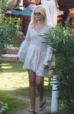 VALERIA MAZZA on Holiday in Malaga 08/14/2017