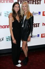 VANESSA GRASSE and JESSICA MADSEN at Leatherface Premiere in London 08/25/2017