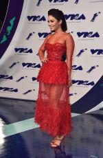 VANESSA HUDGENS at 2017 MTV Video Music Awards in Los Angeles 08/27/2017