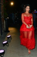 VANESSA HUDGENS at Beauty and Essex Night Club VMA After Party in Hollywood 08/27/2017
