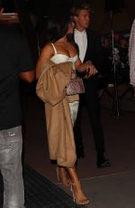 VANESSA HUDGENS at Floyd Mayweather vs. Conor McGregor Fight in Las Vegas 08/26/2017