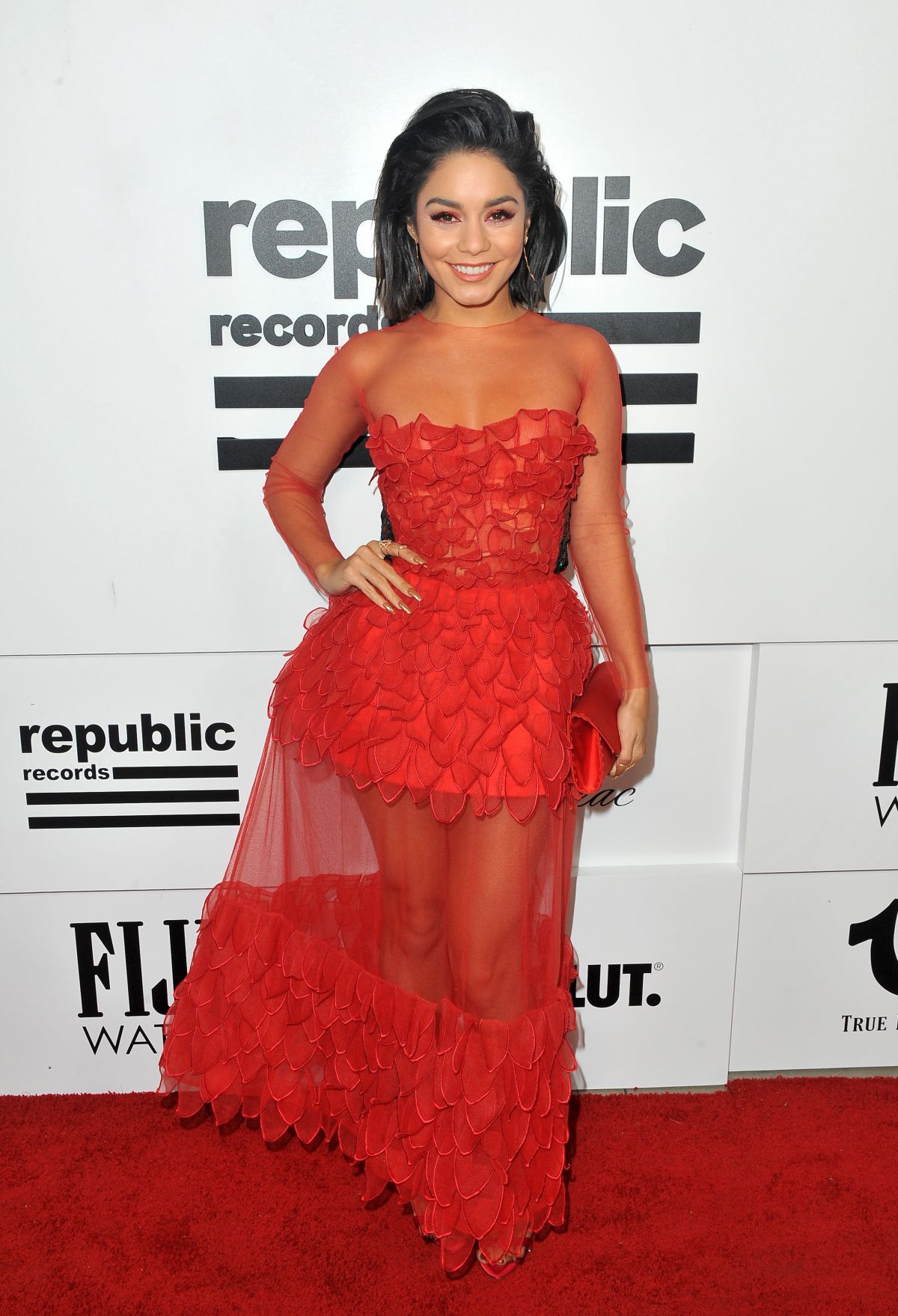 VANESSA HUDGENS at Republic Records and Cadillac VMA After-party in West Hollywood 08/27/2017