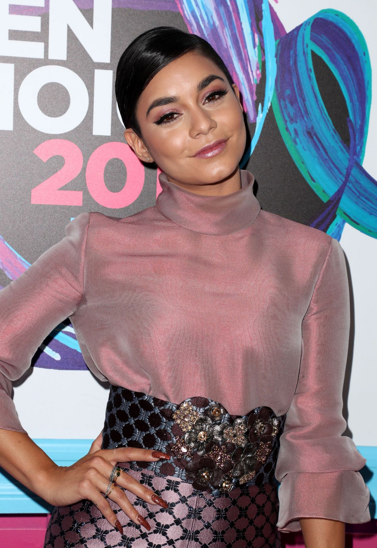 VANESSA HUDGENS at Teen Choice Awards 2017 in Los Angeles 08/13/2017