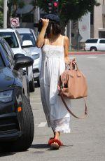 VANESSA HUDGENS Heading to a Spa in Los Angeles 08/29/2017