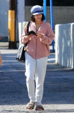 VANESSA HUDGENS Heading to Alfred Coffee + Kitchen in Studio City 08/18/2017