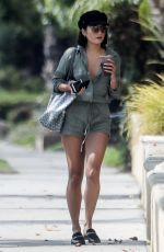 VANESSA HUDGENS Out and About in Beverly Hills 08/04/2017
