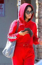 VANESSA HUDGENS Out and About in Studio City 08/07/2017