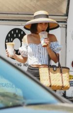 VANESSA HUDGENS Out for a Coffee in Studio City 08/12/2017