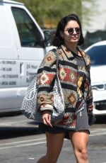 VANESSA HUDGENS Out in Hollywood 08/22/2017