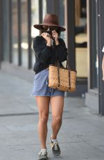 VANESSA HUDGENS Shopping at Urban Outfitters in Los Angeles 08/08/2017