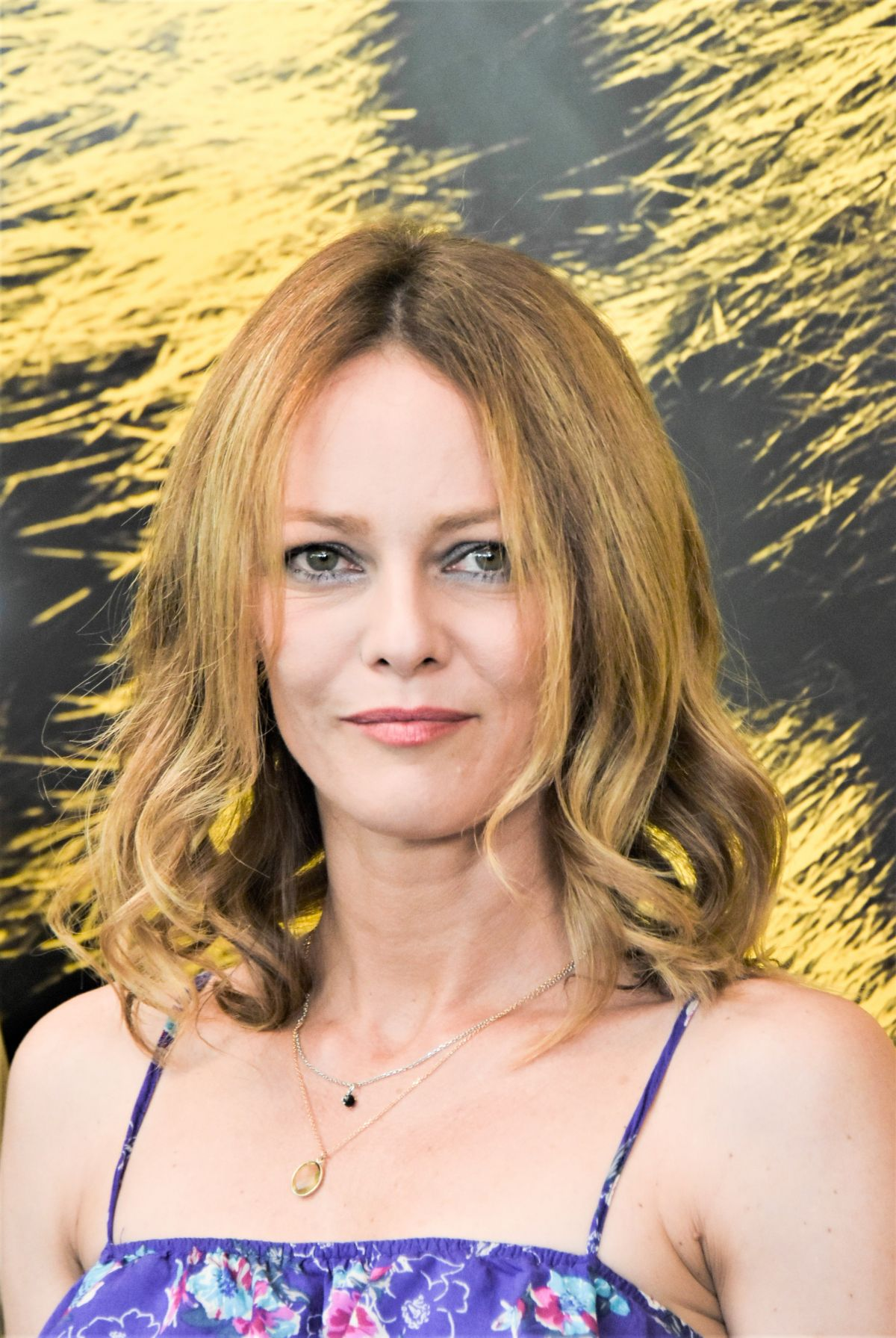 VANESSA PARADIS at Chien Photocall at 70th Locarno ... Vanessa Paradis