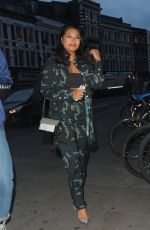 VANESSA WHITE Arrives at James Bay x Topman Launch Party in London 08/08/2017