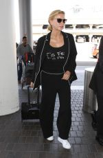 VERONICA FERRES at LAX Airport in Los Angeles 08/24/2017
