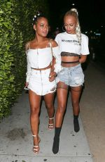 CHRISTINA MILIAN Night Out in West Hollywood 08/11/2017