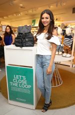 VICTORIA JUSTICE at H&M and Victoria Justice Support Girl Up for Back to School in Los Angeles 08/09/2017
