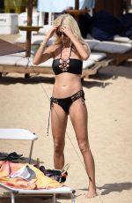 VICTORIA SILVSTEDT in Bikini at a Beach in Cala Di Volpe 08/09/2017