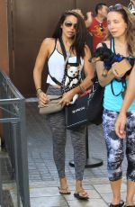 VIDA GUERRA in Tights Out Shopping at The Grove in Hollywood 08/17/2017