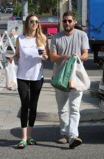 WHITNEY PORT and Tim Rosenman Shopping at Farmer
