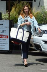 WHITNEY PORT Leaves a Salon in Los Angeles 08/25/2017