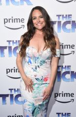 YARA MARTINEZ at The Tick Premiere in New York 08/16/2017